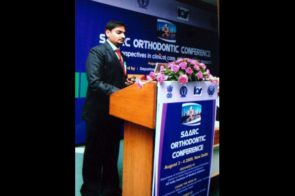 speaking at saarc conference